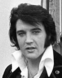 Photo of Elvis Presley from the NARA collection