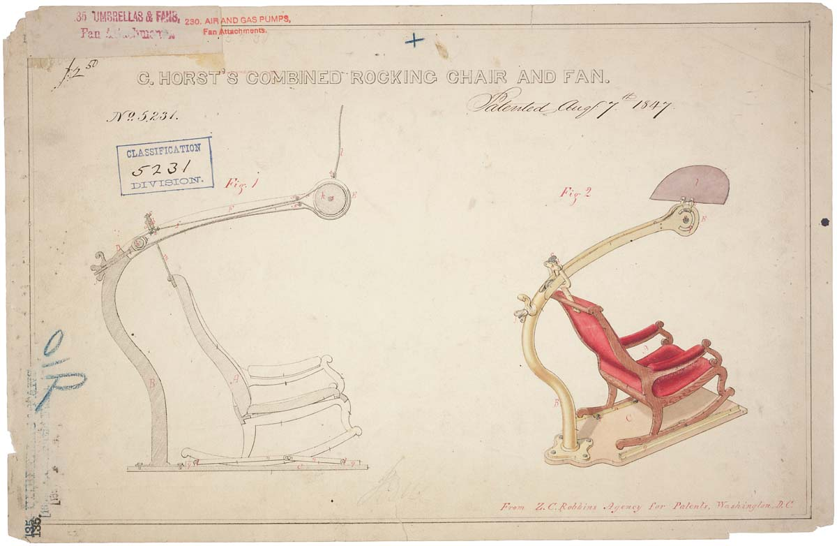 While we can't promise to have rocking chairs with built in fans available at the next FOIA Advisory Committee Meeting, we'd be glad to save you a seat (NARA Identifier 594932)